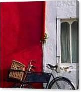 Kinsale, Co Cork, Ireland Bicycle Canvas Print
