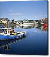 Kinsale, Co Cork, Ireland Boats In The Canvas Print