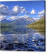 Kintla Lake Pebbles Canvas Print