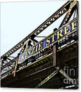 Kinzie Street Stop - Chicago Canvas Print