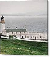 Kirkabister Ness Lighthouse Canvas Print