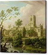 Kirkstall Abbey - Yorkshire Canvas Print