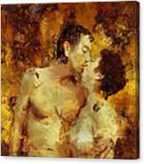Kiss Me Again Canvas Print