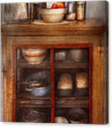 Kitchen - The Cooling Cabinet Canvas Print