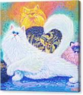 Kitties For Jenny Canvas Print