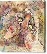 Kitty Fluffs Canvas Print