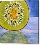 Kiwi Reflection Canvas Print