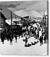 Klondike Street Scene Canvas Print