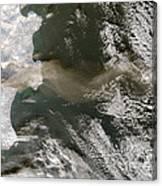 Klyuchevskaya Volcano Canvas Print