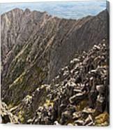 Knife Edge Mount Katahdin Baxter State Park Canvas Print