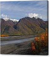 Knik River Canvas Print