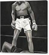 Knockdown Canvas Print
