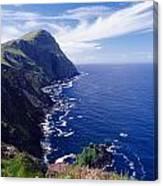 Knockmore Mountain, Clare Island Canvas Print