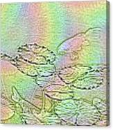 Koi Rainbow Canvas Print