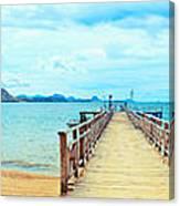 Komodo Panorama Canvas Print