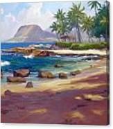 Ko'olina Colour Canvas Print