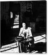 Korean Poetess Tells How She Escaped Canvas Print