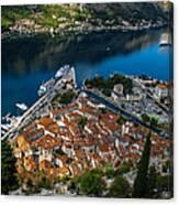 Kotor Montenegro Canvas Print