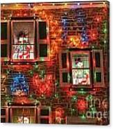 Koziar's Christmas Village Canvas Print