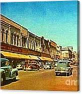 Kresge's Department Store In Oshkosh Wi In 1950 Canvas Print