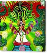Kundalini Rising And The Tree Of Twelve Fruits Canvas Print