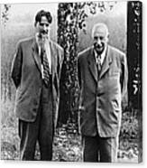 Kurchatov And Ioffe, Soviet Physicists Canvas Print