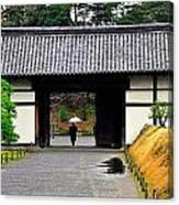 Kyoto Rain Canvas Print