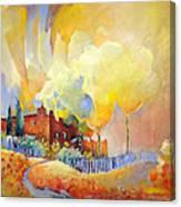 La Casa De La Duena Canvas Print