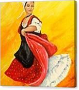 La Danseuse Canvas Print