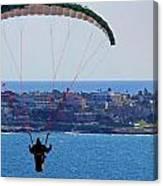 La Jolla Hang Glider  Canvas Print