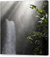 La Paz Waterfall Costa Rica Canvas Print