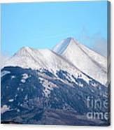 La Sal Mountains 111 Canvas Print