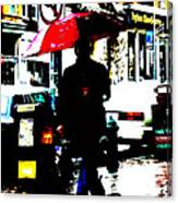 La Sombria Roja Canvas Print