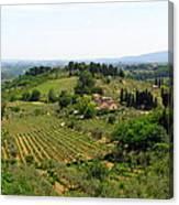 La Toscana Canvas Print