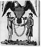 Labor Certificate, 1795 Canvas Print