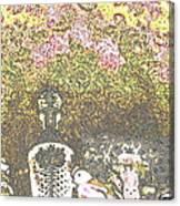 Lace Canvas Print