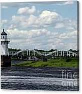 Lace Lighthouse Canvas Print
