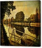 Lachine Canal Canvas Print
