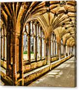 Lacock Abbey Canvas Print