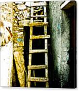 Ladder To Canvas Print