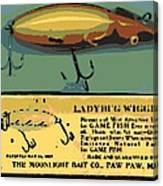 Lady Bug Wiggler Canvas Print