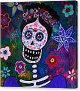 Lady Frida Canvas Print