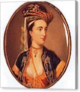Lady Mary Wortley Montagu Canvas Print