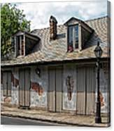 Lafittes Blacksmith Shop Bar New Orleans Canvas Print