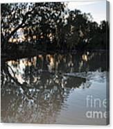 Lagoon At Dusk Canvas Print