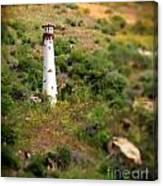 Laguna Beach Light Tower Canvas Print