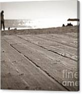 Laguna Beach Walk Canvas Print