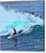 Laguna Surfer Canvas Print