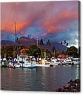 Lahaina Harbor Canvas Print