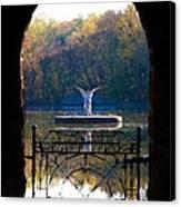 Lake Angel Canvas Print